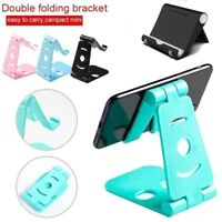 Adjustable Mobile Phone Stand Holder Bracket Smartphones Swivel Foldable Desk