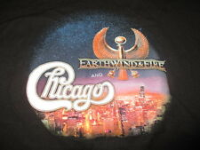 """2015 Earth Wind Fire & Chicago """"Heart and Soul"""" Concert Tour (Xl) T-Shirt"""