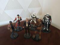lot figurines star wars 6 pièces