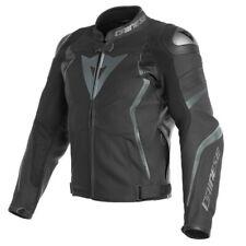 Dainese Avro 4 Pelle Gr. 60 Motorradjacke Lederjacke schwarz anthrazit