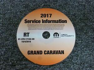 2017 Dodge Grand Caravan Factory Shop Service Repair Manual CD SE SXT GT 3.6L V6