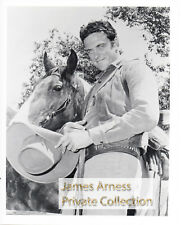 James Arness Private Collection Gunsmoke Marshal Dillon Hat in Hands  8 x 10