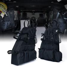 Xprite Jeep Wrangler Rear Roll Bar Saddle Storage Bags for 2007-2018 JKU 4 Door