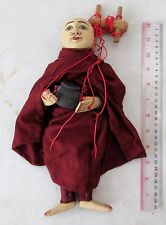 VERY NICE Old Buddhist Monk Puppet Marionette