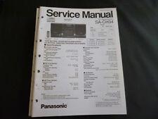 Original Service Manual  Panasonic SA-CH34