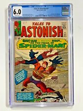 Tales to Astonish #57 CGC 6.0 Early Spiderman with logo missing on uniform