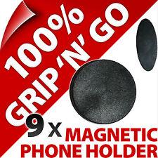 9x Universel Tiret Support Voiture Aimant Montage pour Portable Smartphone