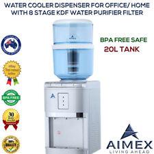 Water Cooler Dispenser Benchtop Hot Cold Ambient Taps Filter Purifier 20L Bottle