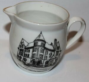 Small Vintage Souvenir Creamer Young Men's Christian Association Bangor Maine