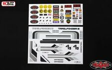 Complet jouet Graphic Decal Sticker TF2 Mojave Hilux corps RC4WD Z-B0140 RC Gris