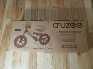 Cruzee UltraLite Balance Bike  Ages 1.5 to 5-6 Yrs open box  READ!!!!