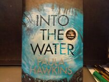 INTO THE WATER Signed by Paula Hawkins