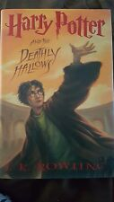 Harry potter and the Deathly Hallows hardcover year 7 free shipping