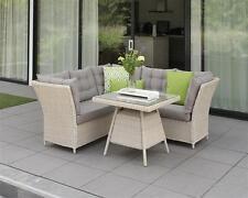Poly Rattan Gartenmöbel Lounge Set Gartengarnitur Essgruppe Sitzgruppe Morris