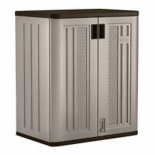 Outdoor Storage Cabinet 30x20x36 Inches Patio Garden Polyethylene Shed Organiser
