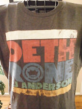 Dethrone Royalty brown  RJ ANDERSON men's t shirt size large