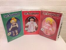 TOP DRAWER SOFT SCULPTURES DOLL SEWING KITS BUTTERCUP, PETUNIA, MORNING GLORY