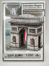 L'Arc de Triomphe Paris maquette a monter en carton hauteur 21cm belle qualité