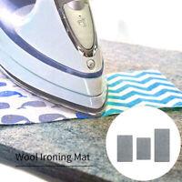 Wool Pressing Mat Ironing Pad High Temperature Ironing Board Felt 3 Style Option