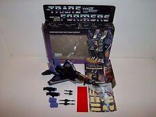 1984 Transformers G1 PreRub **SKYWARP** MIB 100% Complete w/ Box NEAR MINT C9