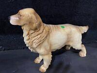 Goebel Statue Large vintage dog golden Labrador retriever