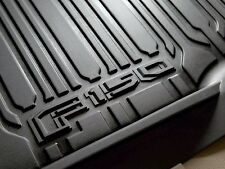 Oe 15-18 Ford F-150 Contoured All Weather Floor Liner 3Pc Crew Cab Hl3Z1613300Aa
