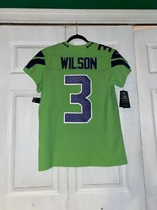 Authentic Russell Wilson Nike Elite Color Rush Jersey Mens Size: 40 **RARE**