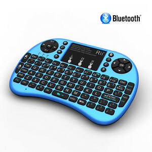 Rii i8+ BLUETOOTH Mini Wireless Backlight Touchpad Keyboard with Mouse Combo