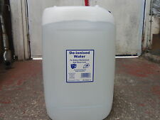 Deionised De-ionised Water 25L 25Ltr 25 Litres