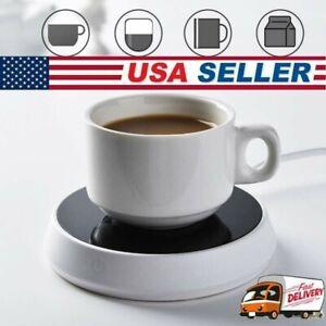 Smart Coffee Mug Warmer Tea Milk Cup Heater Pad Heating Plate for Office Home US