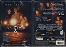 M.N.Shyamalan M.Gibson SIGNS nuovo sigillato DVD con OLOGRAMMA TONDO