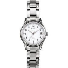 Timex T29271, Women's Silvertone Bracelet Watch, Indiglo, Date T292719J