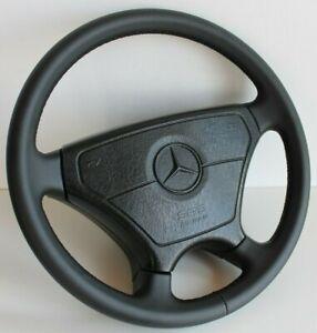 Steering Wheel Mercedes Benz OEM Sportline Leather W124 W126 R107 G 85-92