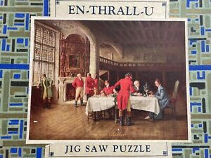 vintage wooden jigsaw puzzles fairytales and war