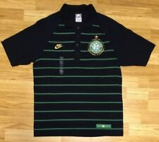 NWOT Nike Celtic 40th Anniversary Men's Striped Soccer Polo Shirt Size Medium