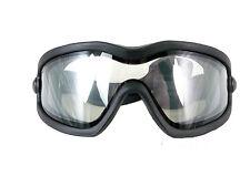 Valken Sierra Dual Pane Airsoft Air Soft Anti Fog Protective Goggles - Clear