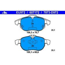 For Saab 9-3  9-3X Front Brake Pad ATE 607172