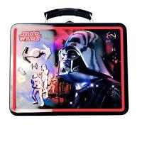 Star Wars Tin Box Company 2008 Darth Vader Stormtrooper Lunch Box Collectible