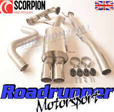 """Scorpion Fiesta ST180 / ST200 3"""" Turbo Back Exhaust (NON RES) Inc Decat Downpipe"""