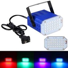 36x LED Mini Disco DJ Strobe Party Portable Stage Light Flash Lighting Bar Club