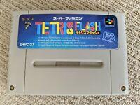 Tetris Flash cartridge for Nintendo Super Famicom / SNES (NTSC-J)