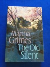 THE OLD SILENT - ADVANCE READING COPY SIGNED BY MARTHA GRIMES