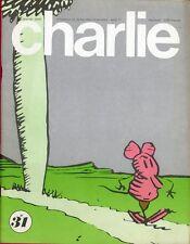 """""""CHARLIE N°31 / août 1971"""" HERRIMAN : KRAZY KAT"""