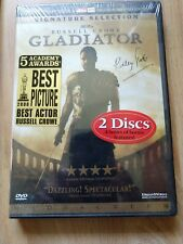 Gladiator (Dvd, 2000, 2-Disc Set) New Sealed but scratches on plastic. Crowe