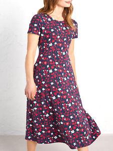NEW SEASALT LADIES Navy Summer Meadow Harbour View Dress RRP £65 10 14 18 20