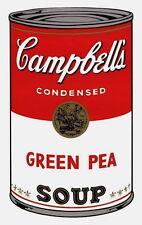 Campbell's Soup-Green Pea (Sunday B. Morning), Silkscreen, Andy Warhol