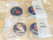 4 x SAAB WHEEL CENTRE CAP 1 # 12775052 Made in Sweden NOS