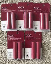10 Eos Lip Balm Pomegranate Raspberry Sticks 5/2pcks New In Pack