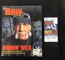 NWO Hollywood Hulk Hogan Scott Hall Kevin Nash Signed WWF Magazine JSA COA WWE