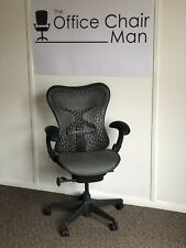 Herman Miller Mirra 1 Triflex Back Executive Task Chair Front Tilt & Tilt Lock
